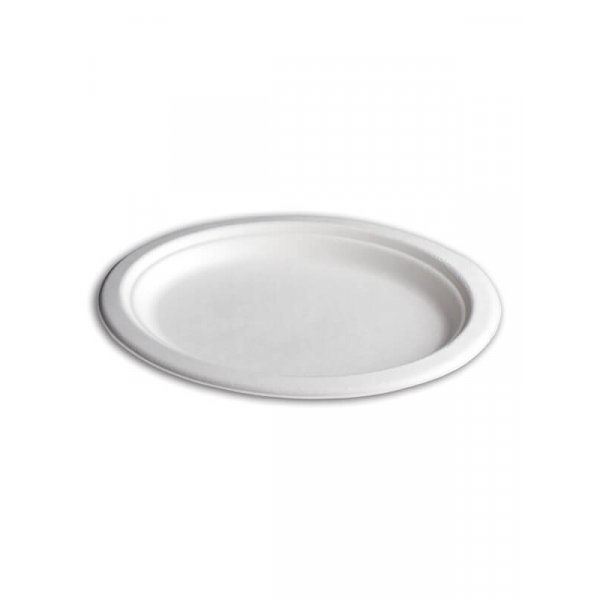Teller, oval, Bagasse, 190x260mm